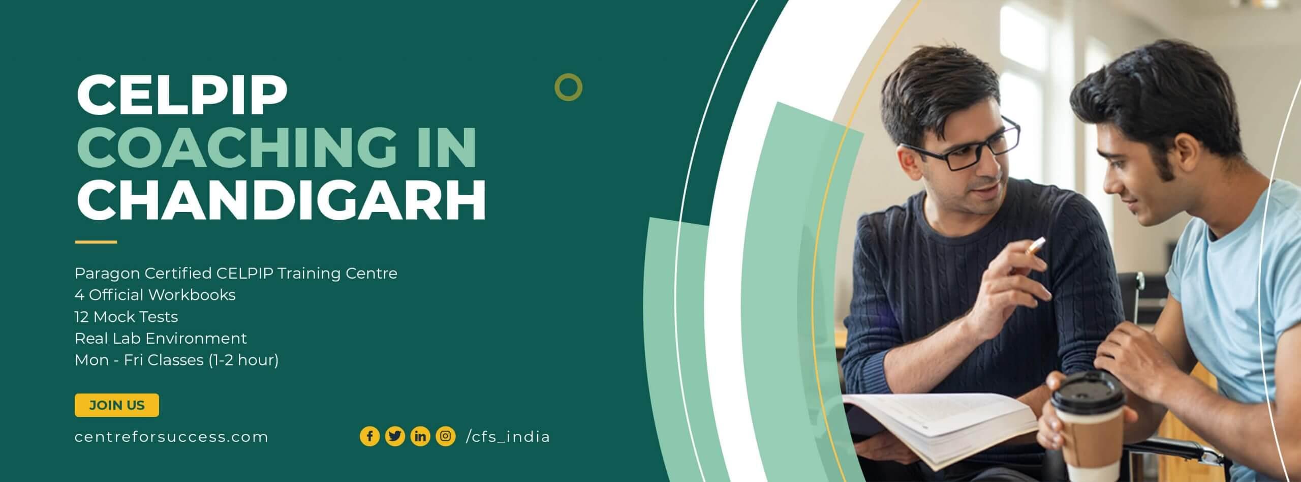 CELPIP Coaching In Chandigarh   CELPIP India