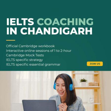 Certified Best Institute For IELTS Coaching in Chandigarh